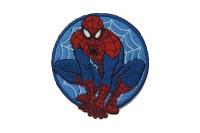 Spiderman iron on patch ø 6,5 cm