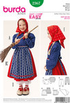 Burda 2367. Witch Blouse, Skirt, Apron, Bloomers, Scarf.