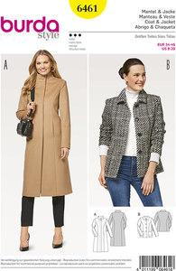 Coat and jacket. Burda 6461.
