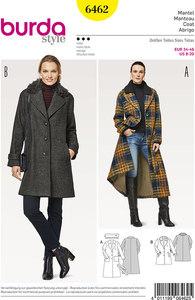 Coats. Burda 6462.