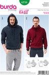 Men´s Pullover, Hoodie, Raglan Sleeves