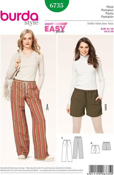 Pants, Drawstring Casing