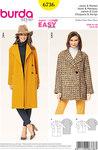 Jacket, Coat, Spade Collar