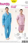 Burda 6741. Men´s Pyjamas, Classic Style.