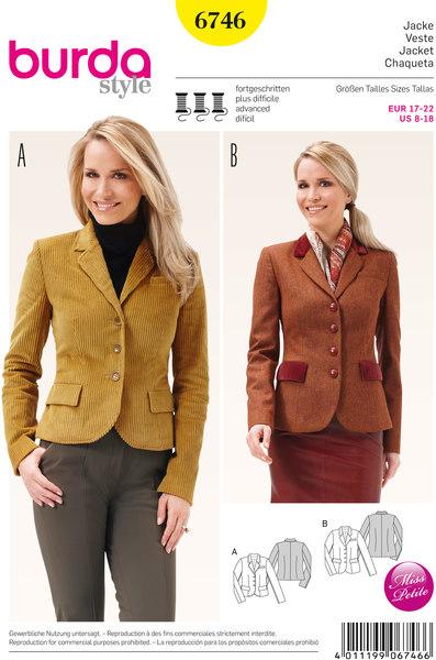 Jacket, Blazer Jacket, Classic Form