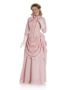Historic dress (1888). Burda 7880.