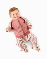 Sweatjacket, Raglan Sleeve Jacket with Stand Collar, Pull-on TrousersPants. Burda 9297.