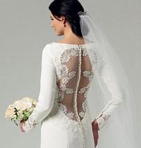 Bridal dress. Butterick 5779.