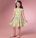 Butterick 6201. Girls´ Dress.