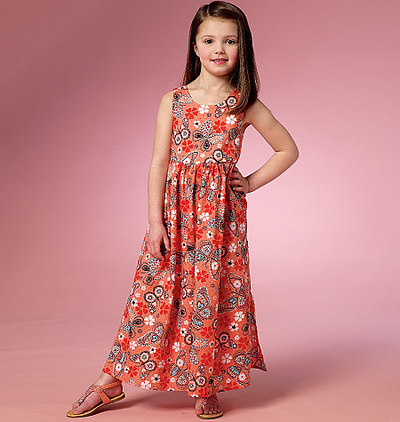 Girls Dress and Culottes