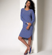 Top, Dress and Skirt. Butterick 6207.