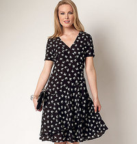 Dress. Butterick 6222.
