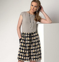Culottes, Connie Crawford. Butterick 6223.