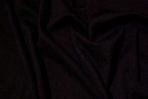 Black and light jacquard knit in polyester