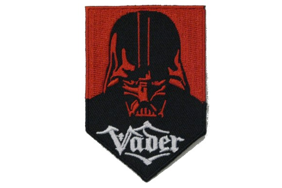 Darth Vader iron on patch 7 x 5 cm