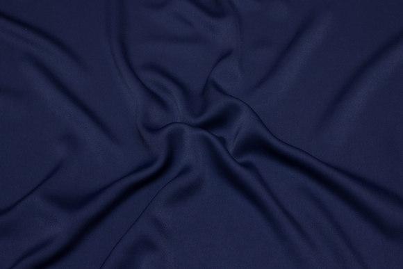 Navy, lightweight micro-polyestercrepe