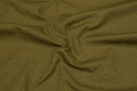 Olive-green, medium-thickness cotton