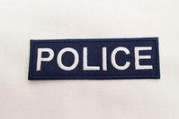 POLICE patch 3 x 9 cm