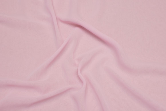 Polyester-chiffon in light soft red