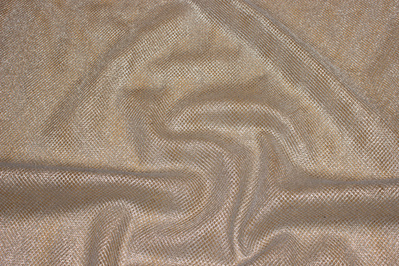 Silver-mesh (large mesh tulle)
