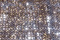 30 cm (12 inches) wide lane of gold stretchable glimmer fabric - great for costumes, dresses, decoration etc.