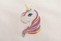 Unicorn patch 6x4cm