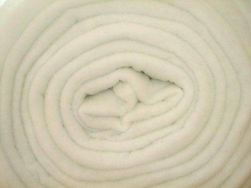 White batting, extra soft, 100 grams/m2