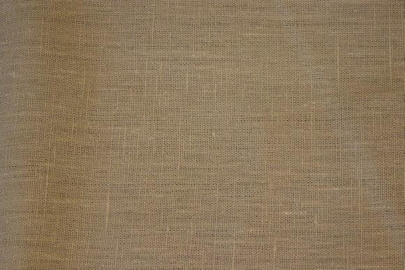 100% linen in dark sand-colored