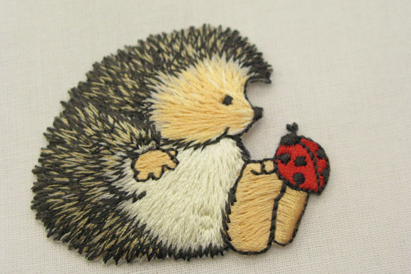 Hedgehog patch 5x5cm