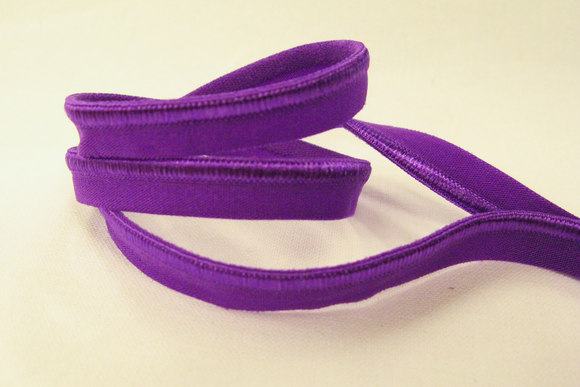 Elastic piping, purple