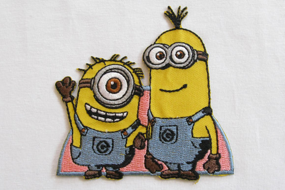 Minion patch friends 7x8cm