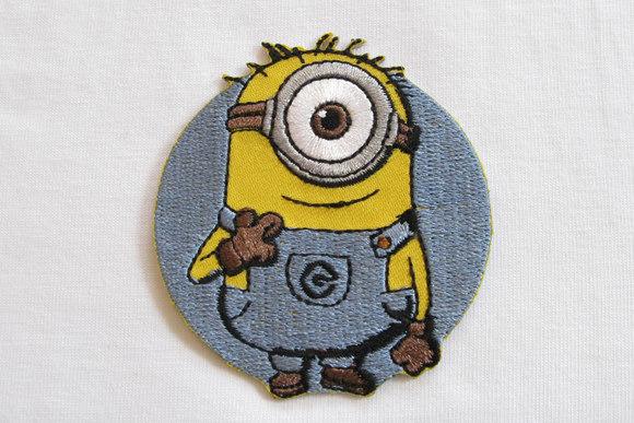 Minion patch one-eye 6x5cm