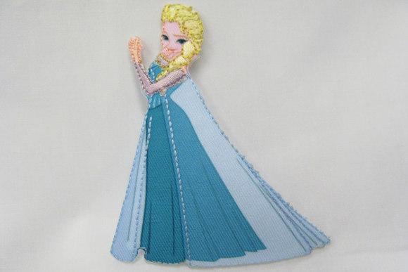 Frozen Elsa patch 9x3cm
