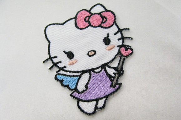 Hello Kitty magic patch 6x4cm