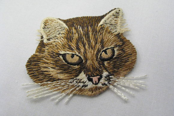 Cat patch 5x6cm