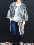 Lovely fashionable oversize jacket or coats in casual style.