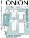 Onion 1053. Cape jacket with 3/4 long sleeves.
