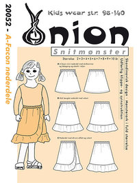 A-shape skirts. Onion 20052.