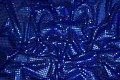 Cobolt-blue glimmer-fabric in gorgeous quality.