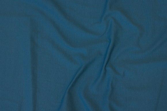 Petrol-blue cotton-jersey