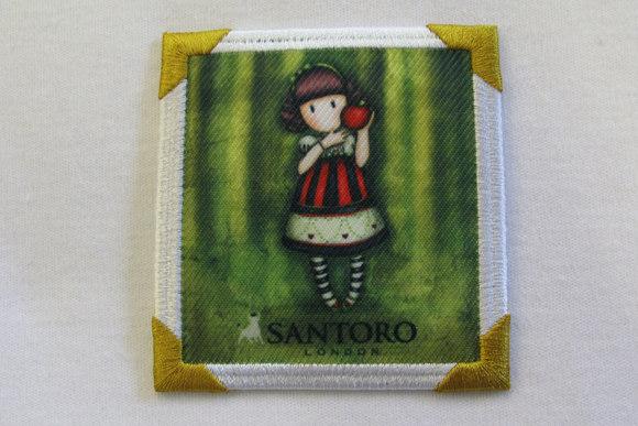 Santoro motiv green 7 x 7 cm