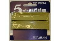 Light olivengreen bias tape, 5 meter