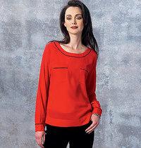 Vogue pattern: Top and Shirt, Anne Klein