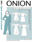 Onion 2081. Dresses with skirt for knitted fabric.