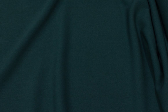 Bottle-green, soft 2-way stretch for dresses, skirts and light pants