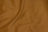 Cinnamon-colored wide-wales corduroy