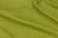Kiwi-green, ruggedly woven opholstry-fabric