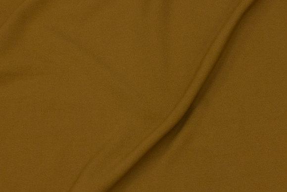Okkerfarvet, soft 2-way stretch for dresses, skirts and light pants
