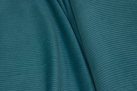Petrol-colored wide-wales corduroy