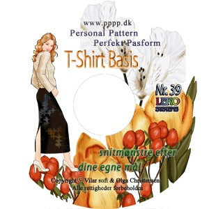 CD-rom no. 39 - T-shirt Basis